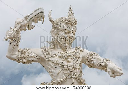 Angel of death statue