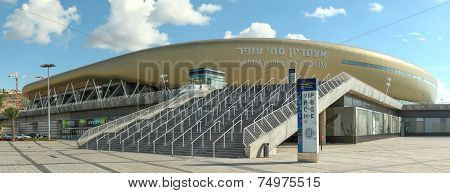 Sami Ofer football stadium in Haifa, Israel