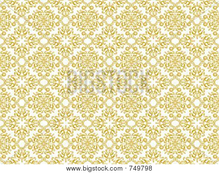 Gold Patterned Fill 2