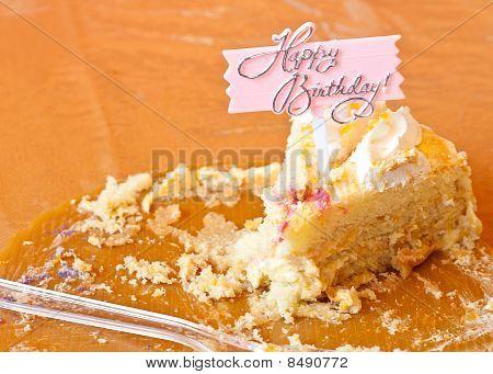 Last Piece Of The Birthday Cake