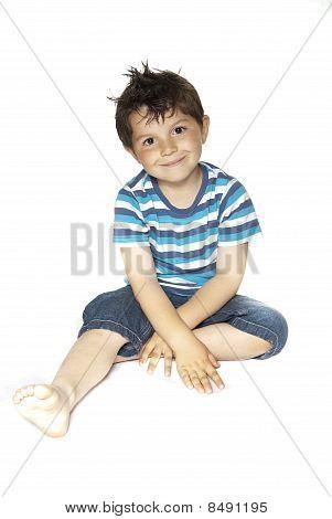 Lovely Child Smiling
