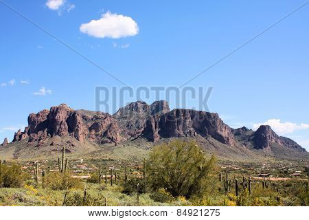 Superstition Mountains, Arizona