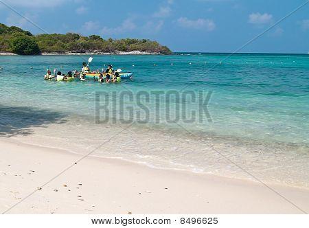 Field Trip At The Ko Kham Beach