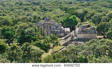 Ek Balam, Mexico - Aerial View