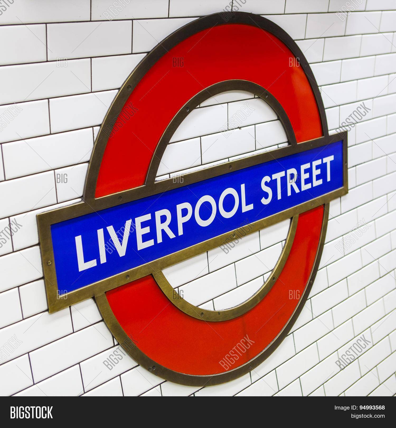 Liverpool Street Image Photo Free Trial Bigstock