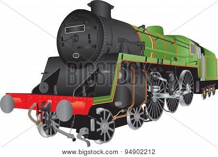 Steam Passenger Locomotive