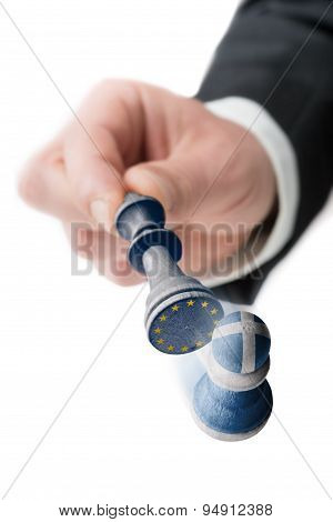 Greece Leaves The European Union