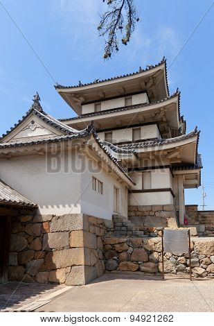 Kitanomaru Tsukimi Turret (1676) Of Takamatsu Castle, Japan