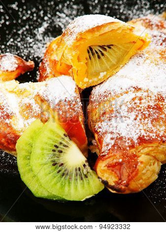Croissants With Fruits