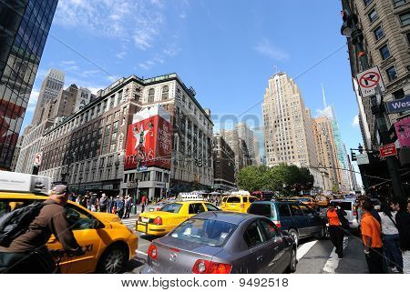 Herald Square In New York City