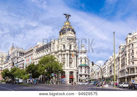 Metropolis Hotel In Madrid, Spain