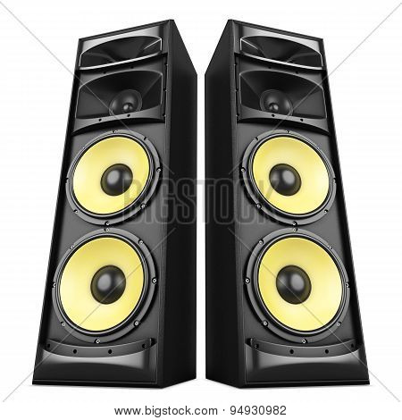 Sound Speakers Boxes