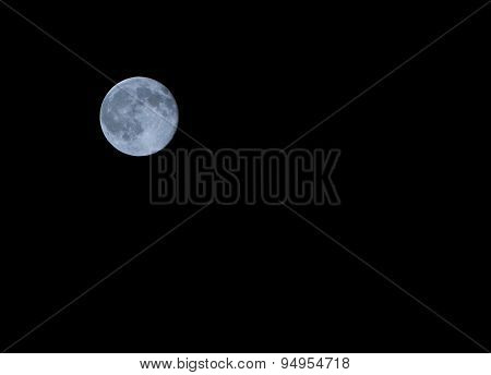 Blue Moon  In The Night In Summer
