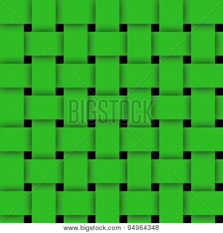 Basketwork-green