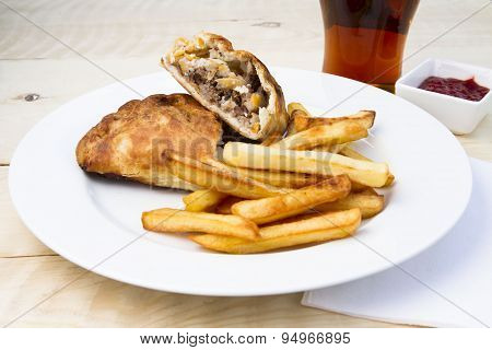 Cornish pasty and a pint