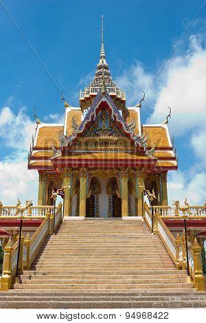 Temple In Sakonnakorn Thailand