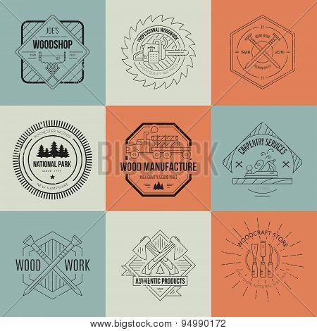 Lumberjack Logos