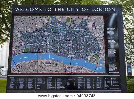 Welcome To The City Of London