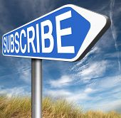 online subscription free membership join now and become a member poster