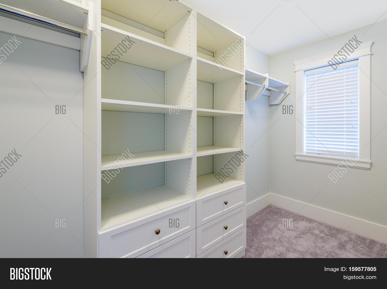Ordinaire Empty Closet, Working Closet, Cupboard In Bedroom.
