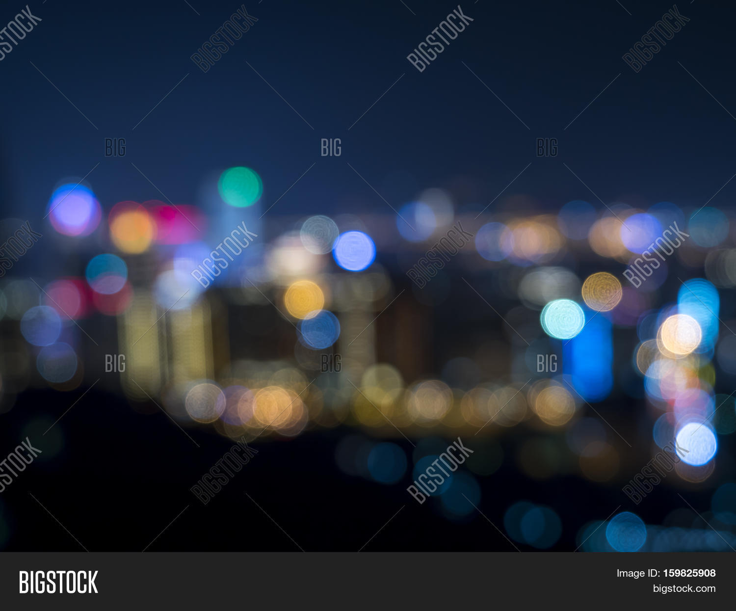 Night Light Bokeh Blur Image Photo Free Trial Bigstock