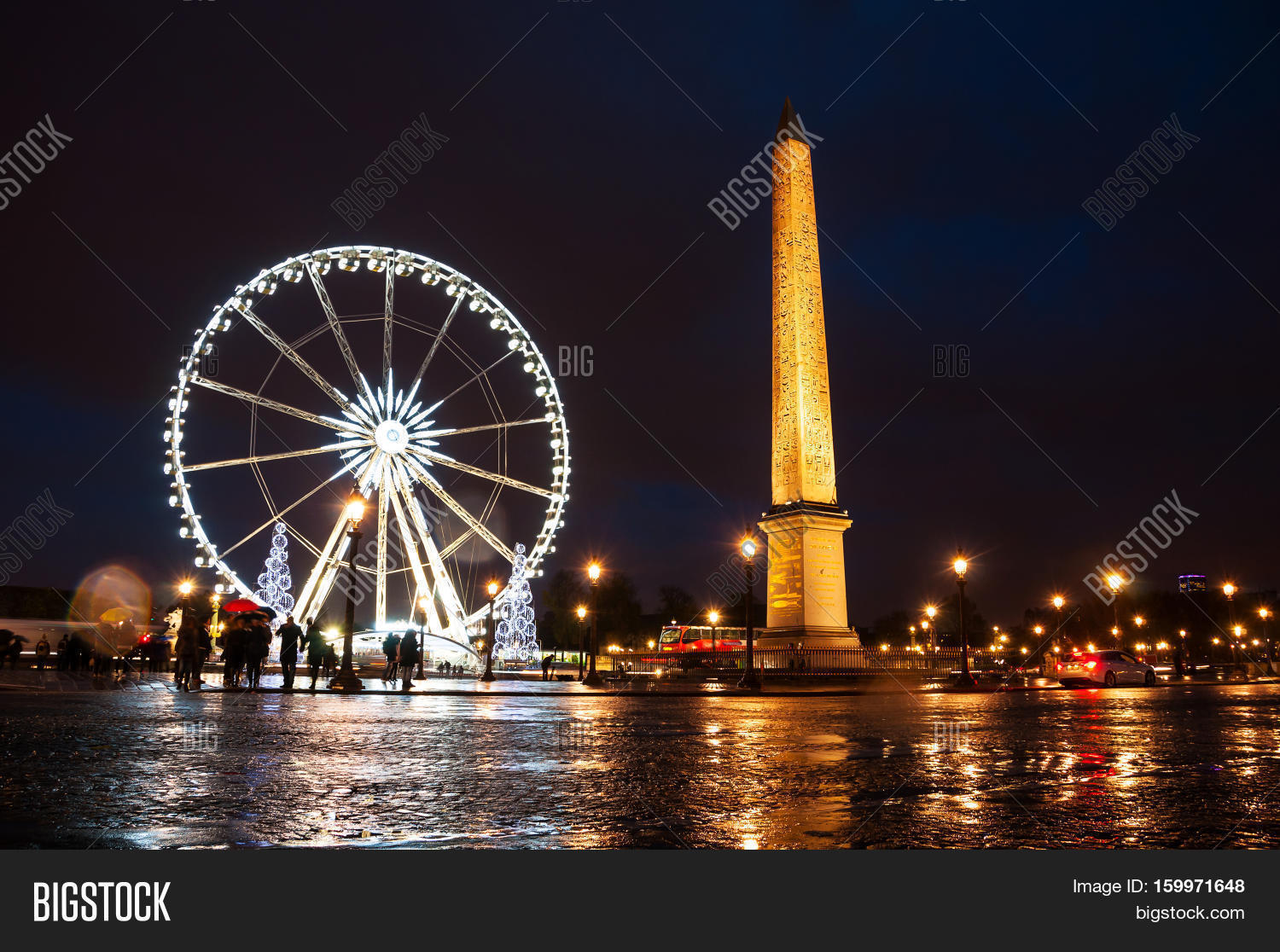 Christmas Paris France.Christmas Paris France Image Photo Free Trial Bigstock