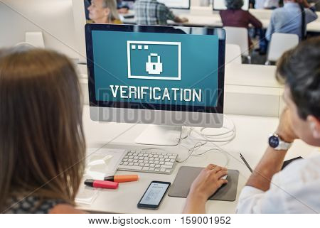 Permission Privacy Protection Security Concept/