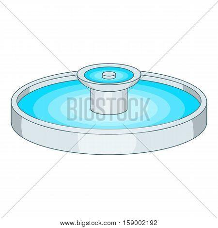 Fountain icon. Cartoon illustration of fountain vector icon for web