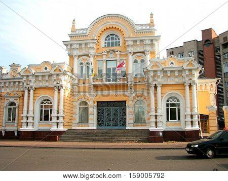 brakosochetaniy.Samy Palace luxury mansion prerevolutionary Cherkassy, known in Soviet times,