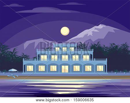Villa On The Beach.eps