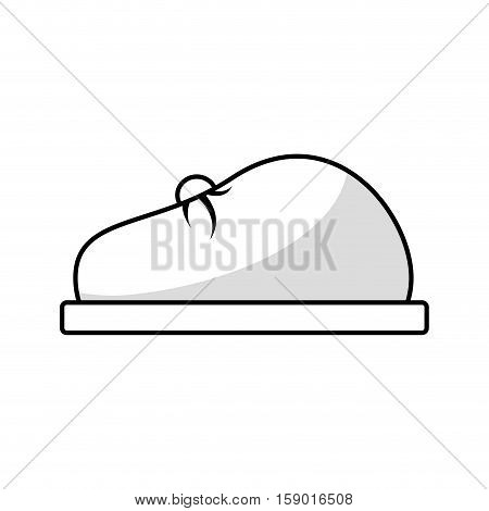 Fashion beret hat icon vector illustration graphic design