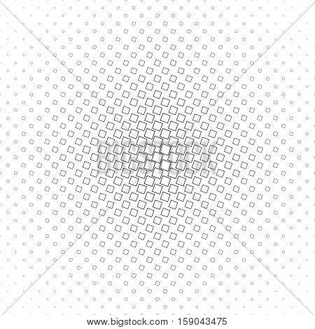 Abstract monochrome geometric angular square pattern design
