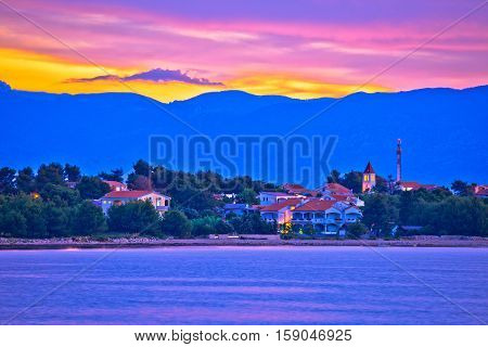 Colorful Dawn On Vir Island
