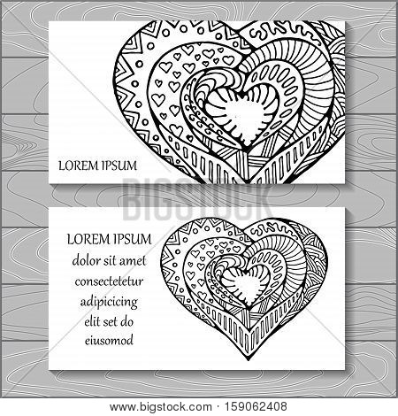 stock vector background. template for card cover poster. pattern with heart