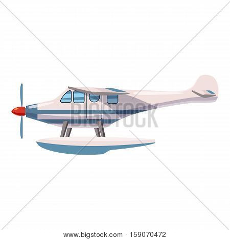 Hydroplane icon. Cartoon illustration of hydroplane vector icon for web design