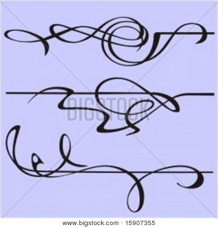Exquisite Design Elements 11 (Vector)