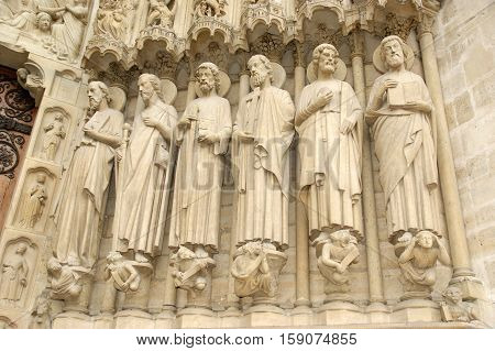 Paris - May 8: Notre Dame De Paris On May 8, 2012 In Paris, France. Notre Dame De Paris, Also Known