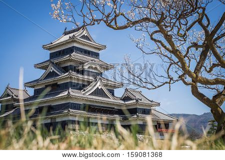 Matsumoto Castle Is One Of The Most Complete And Beautiful Among Japan's Original Castles..