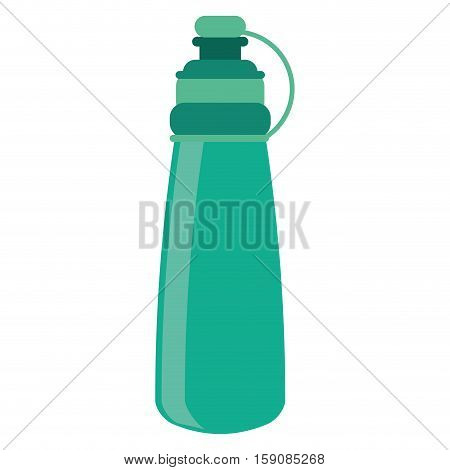 bottle water hydration fitness gym vector illustration eps 10