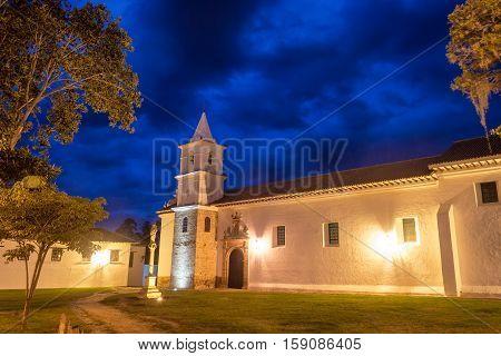 Convent Of San Francisco At Night