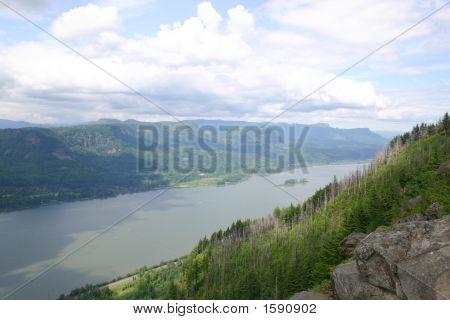 Angel'S Rest, Columbia River Gorge, Oregon
