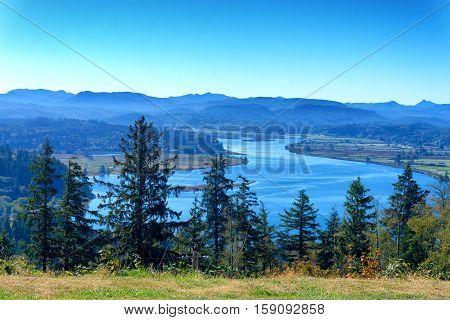 Oregon Coast Landscape