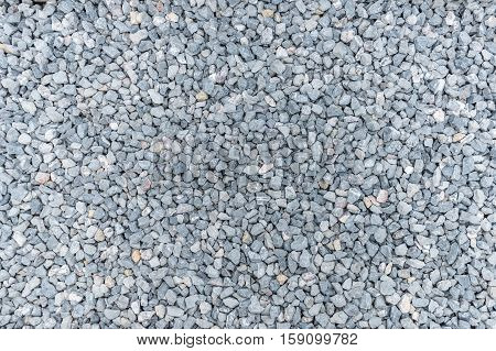 Small rock and stone building materialstexture background