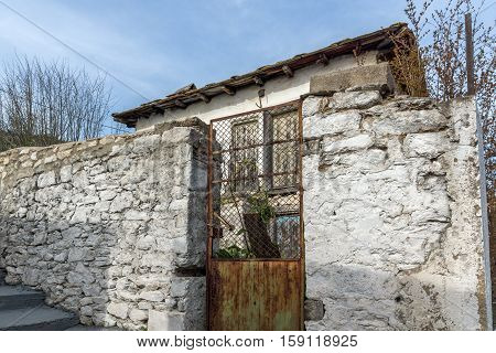 Old house in the village of Theologos,Thassos island, East Macedonia and Thrace, Greece
