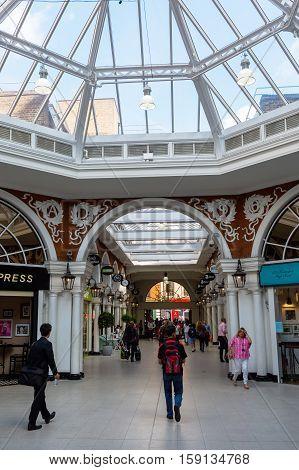 Kensington Arcade In London, England