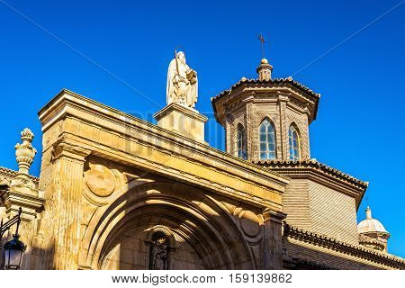 San Pablo Church in Zaragoza - Spain, Aragon Region