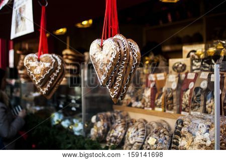 typical Christmas market in Alto Adige, Bolzano