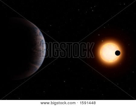 Gliese581-C Extrasolar Planet