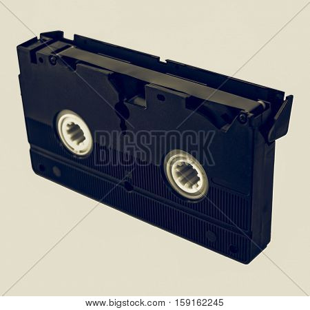 Vintage Looking Video Tape Cassette