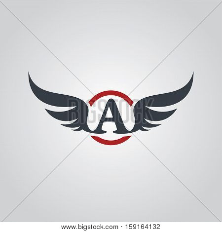 Aviator Symbol Logo Logotype Theme